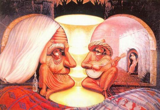 Creative Illusions Optical Illusions That Are Truly Mind Bending Madten
