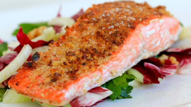 Walnut-Crusted-Salmon