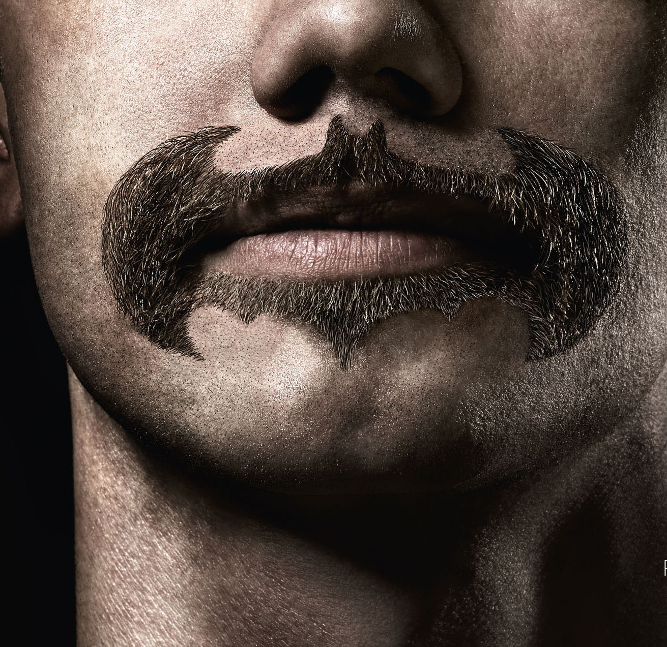Superheroes Beard and Mustache by Braun Cruzer Trimmer