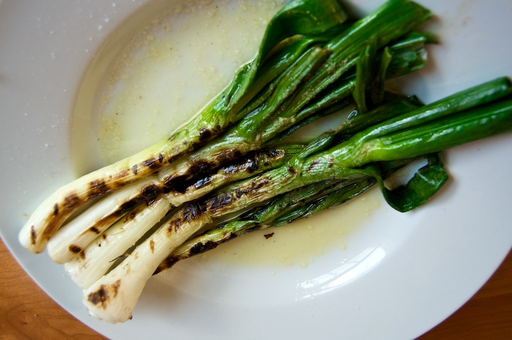 Grilled-Scallions