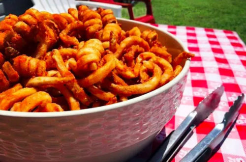dank curly fries