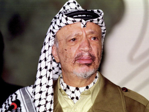 Palestinian Yasser Arafat