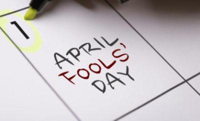 April Fools On Calendar